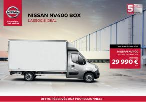 Nissan NV400 BOX - L'associé idéal pour votre entreprise