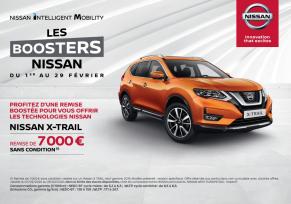 Les boosters Nissan - Nissan X-TRAIL 7 000 € de remise
