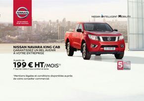 Gamme véhicule utilitaire - Nissan Navara