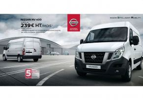 Gamme véhicule utilitaire - Nissan NV400