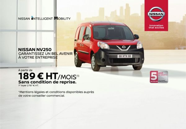Gamme véhicule utilitaire - Nissan NV250