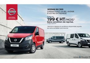 Gamme véhicule utilitaire - Nissan NV300