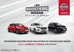 Les boosters Nissan