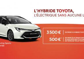 Nouvelle Toyota COROLLA TOURING SPORTS Hybride à partir de 289 € par mois
