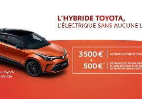 Nouveau Toyota C-HR Hybride à partir de 269 € / mois