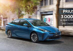 Nouvelle Toyota PRIUS à partir de 288 € / mois
