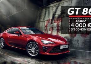 Toyota GT86 : 4 000 € d'économies