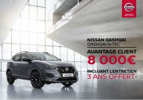Qashqai N-Tec, 8000€ d'avantage client