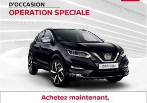 Achetez votre Nissan Qashqai d'occasion maintenant, payez dans 3 mois !
