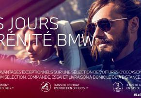 LES JOURS SERENITE BMW.