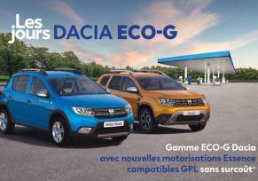 Les Jours Dacia Eco-G
