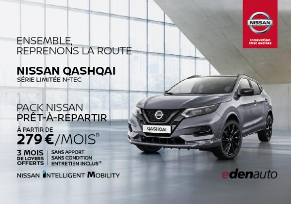 Nissan Qashqai à partir de 279€/mois