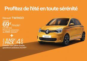 Renault Twingo à partir de 69€/mois