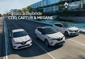 Offre hybride et électrique Renault