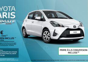Toyota YARIS Ultimate à partir de 79 € par mois