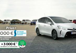 Toyota Prius+ à partir de 359 € par mois