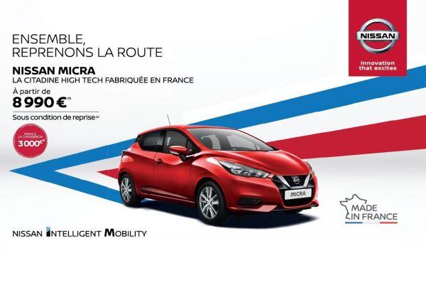Nissan Micra à partir de 8990€