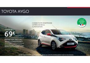 Toyota AYGO à partir de 69 € / mois