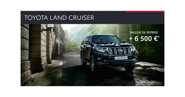 Toyota Land Cruiser : valeur de reprise + 6 500 €