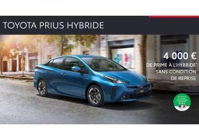 Nouvelle Toyota PRIUS à partir de 329 € / mois