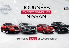 Journées exceptionnelles Nissan