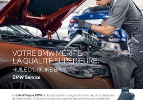 VOTRE BMW MÉRITE LE MEILLEUR.