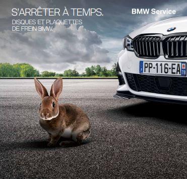 BMW pour un freinage sûr et performant.