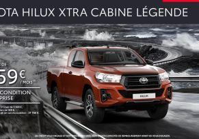 Toyota HILUX à partir de 359 € par mois