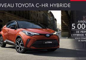 Nouveau Toyota C-HR Hybride à partir de 259 € / mois