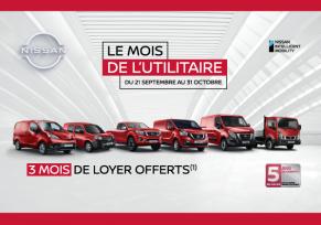 Le mois de l'utilitaire Nissan