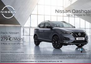Nissan qashqai : à partir de 279€/mois