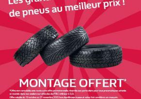 Changez vos pneus BMW MINI au meilleur prix !