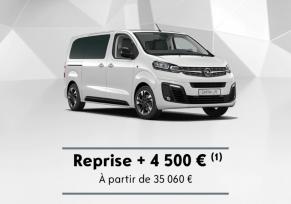 Zafira Life : reprise + 4 500€