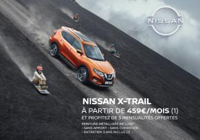 NISSAN X-TRAIL DCI 150 N-CONNECTA : à partir de 459€/MOIS
