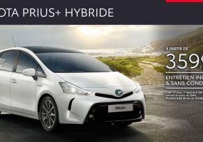 Toyota Prius+ Hybride à partir de 359 € par mois