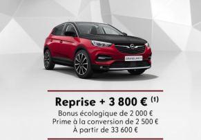 Grandland X Hybride à partir de 33 600 €
