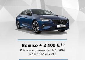 Insignia Grand Sport à partir de 28 700 €
