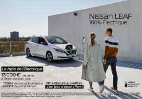 Le mois de l'Électrique Nissan !