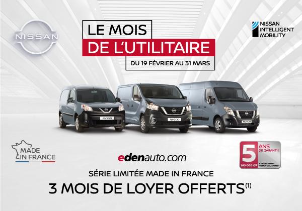 Le mois de l'utilitaire edenauto Nissan