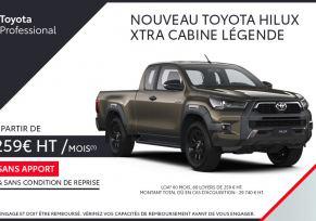 Toyota HILUX à partir de 259 € par mois