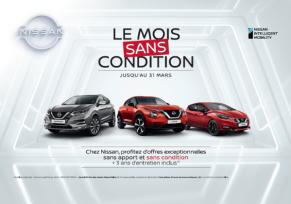 Profitez du mois sans condition chez edenauto Nissan