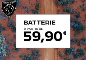 Offre Après-Vente : batterie à partir de 59,90€
