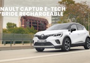 Captur E-Tech hybride rechargeable à partir de 219€/mois (1)