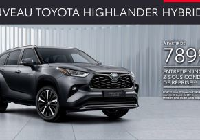 Nouveau Toyota HIGHLANDER HYBRIDE à partir de 789 € par mois