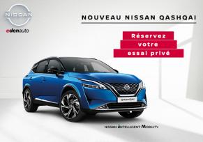 Nouveau Nissan Qashqai : découvrez-le maintenant en concession !