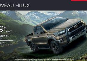 Toyota HILUX à partir de 349 € par mois