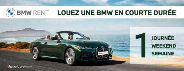 BMW RENT : LOUEZ UNE  BMW SUR QUELQUES JOURS.