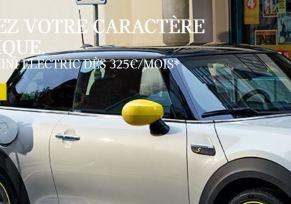 NOUVELLE MINI ELECTRIC DES 325€/MOIS