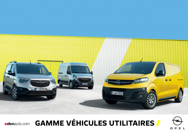Gamme véhicules utilitaires