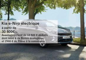 Offre commerciale E-NIRO